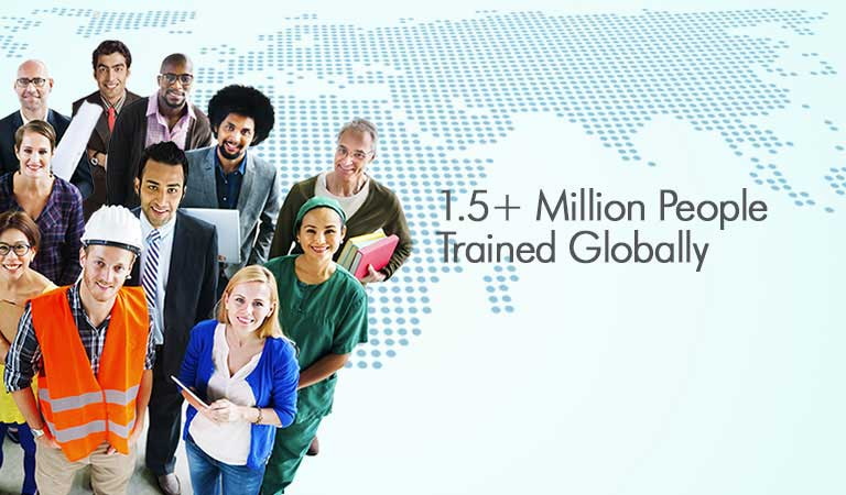 Million People Trained Globally